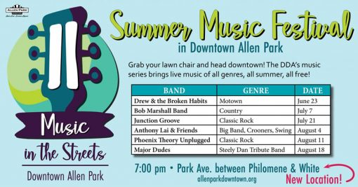 Music in the Streets @ Allen Park | Michigan | United States